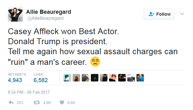 2017-02-28 13_46_25-Allie Beauregard on Twitter_ _Casey Affleck won Best Actor. Donald Trump is pres.png